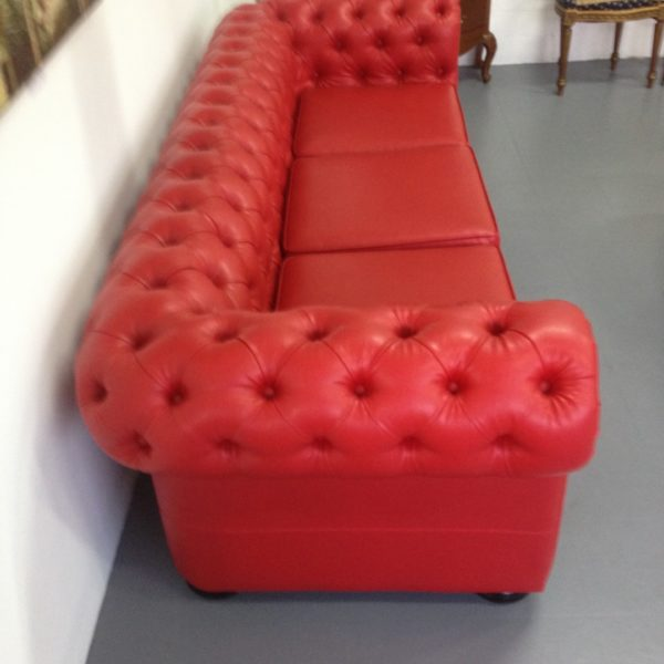 Chesterfield Rojo