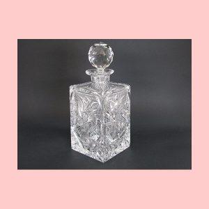 Decantador de cristal