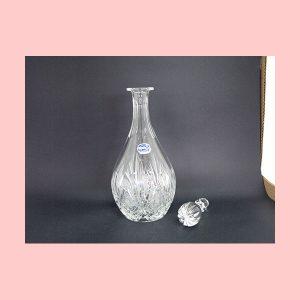 Decantador de cristal Bohemia ovalado